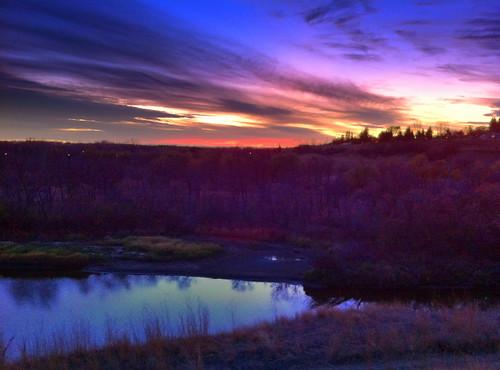 sunset hdr wakamow