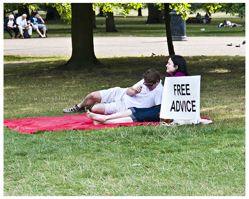 Free Advice | by swanksalot