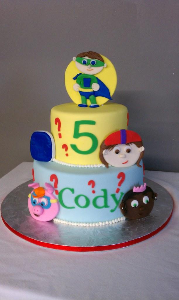 Fine Super Why Birthday Cake Clarissa Lopez Flickr Personalised Birthday Cards Paralily Jamesorg
