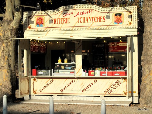 Friterie Tchantches - chez Alberte   by MarcGbx