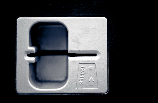 Plastic Money Card Slot