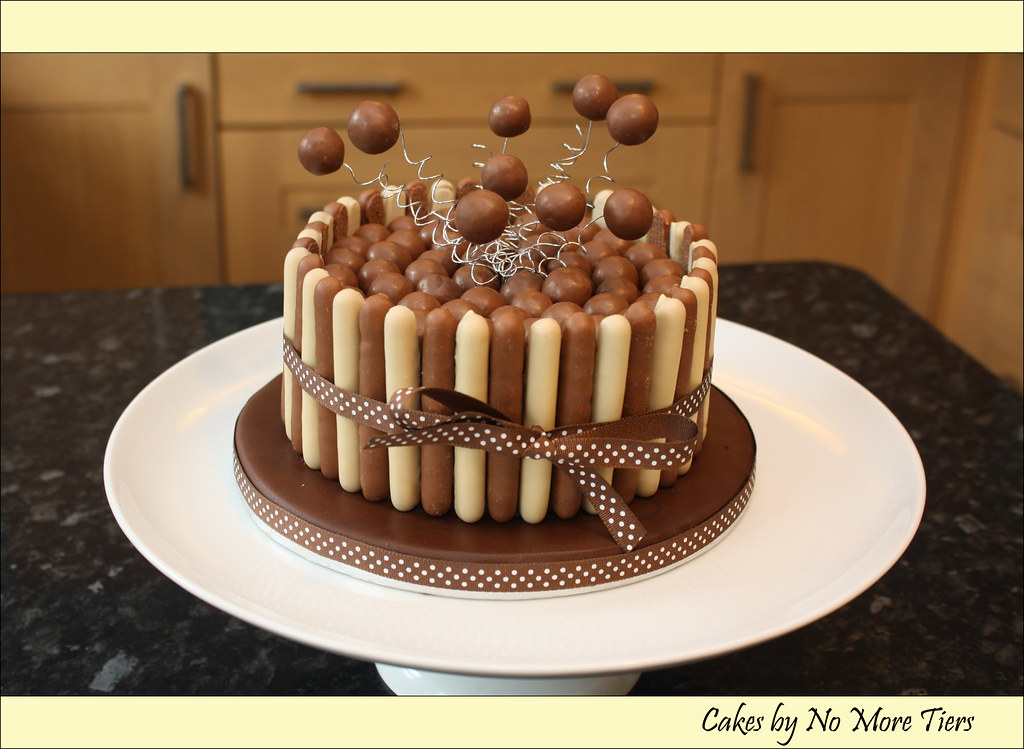Malteser Explosion Cake A Photo On Flickriver