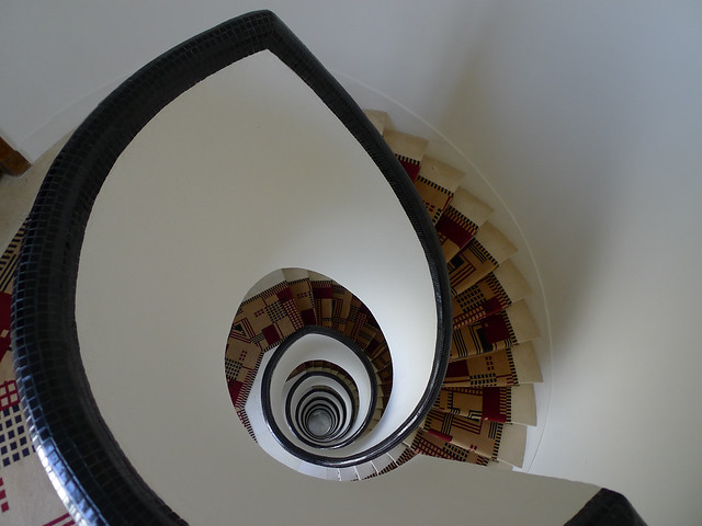 Staircase, 7th floor