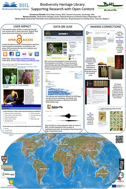 Biodiversity Heritage Library: Supporting Research with Open Content