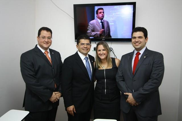 Inauguração  Cursos telepresenciais na nova sede Subsecção de Quixadá 09.11.2011