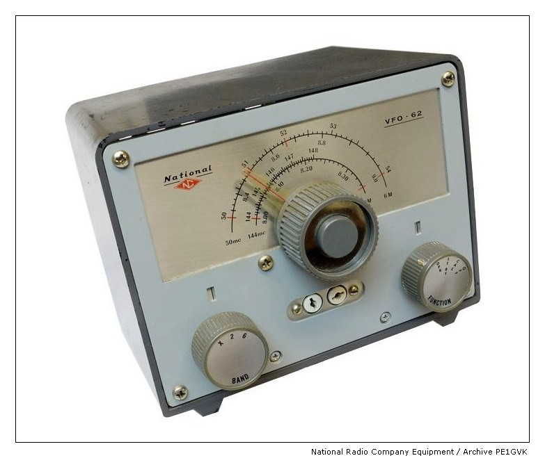 National Company Equipment - VHF 50/144Mhz VFO-62 | The mode… | Flickr