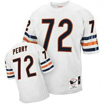 competitive price 996fd cebd8 Mitchell & Ness William Perry 1985 Throwback White Jersey ...