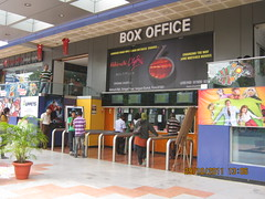 Ra One at the Box Office of City Pride Kothurd Pune 411 038 on a weekend after Diwali 2011