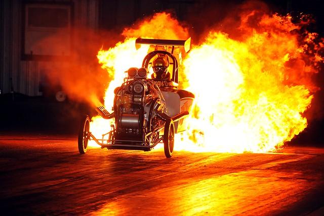 Flame Burnout