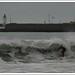 Surf sur la Grande Plage de Quiberon
