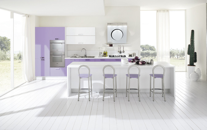 Cucina Moderna Lilla.Cucina Moderna Lilla Cucina Moderna L 420 Cm Con Penisola