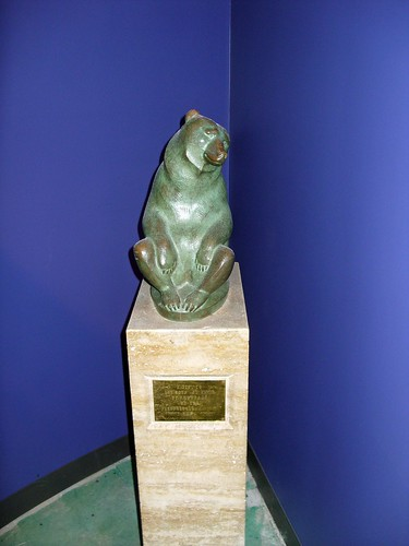 Two Bears, Ferndale Public Library, Ferndale, Michigan | by Marshall M. Fredericks Sculpture Museum