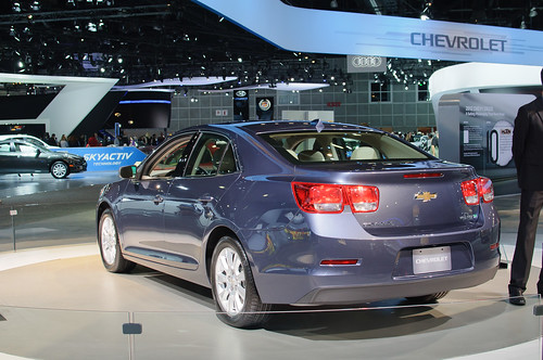 2013 Chevrolet Malibu (US preproduction) Photo