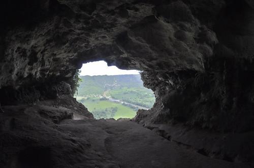 cliff fall window ventana view puertorico arecibo vista cave cueva