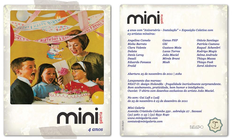Mini Galeria 4 anos - Anivers\u00e1rio-Instala\u00e7\u00e3o + Exposi\u00e7\u00e3o C ...