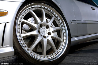 WORK Wheels USA Mercedes Benz E63 AMG on WORK VS-FX 20