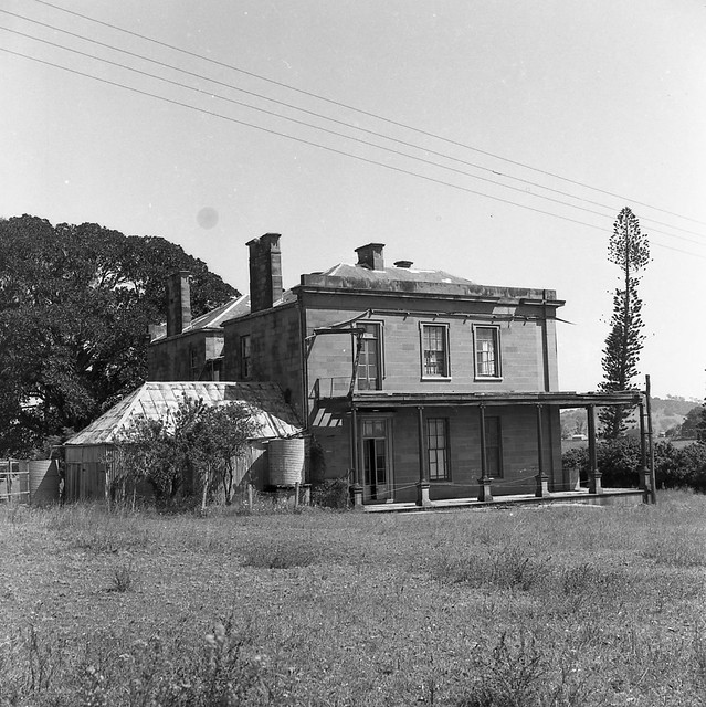 Rear view, Aberglasslyn House, Aberglasslyn, NSW, Australia - March 24, 1961