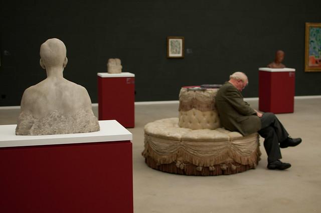 Muse und Muße im Museum