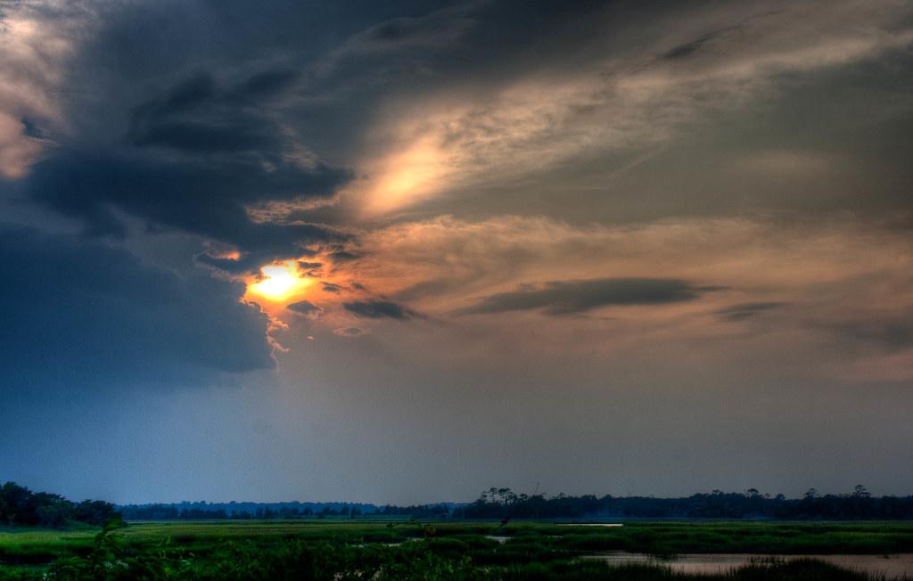 Sunset Over Blythe Island