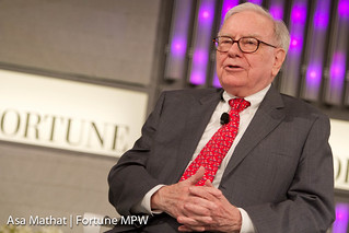 Warren Buffett of Berkshire Hathaway Inc. and interviewer Carol Loomis of Fortune   by Fortune Live Media