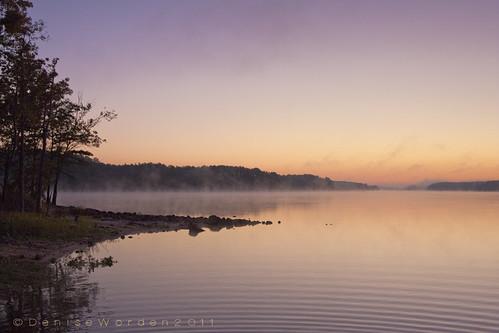 trees sun nature water bells sunrise canon landscape nc rocks chathamcounty jordanlake 450d imaginefotocom