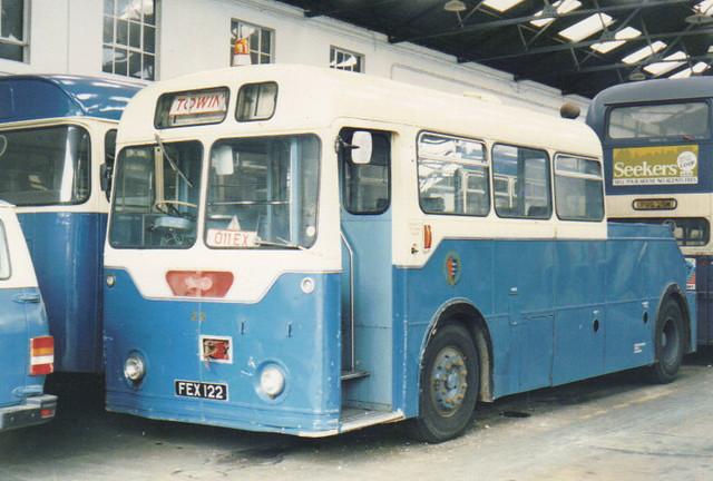 22, FEX 122, Daimler Freeline, Roe Body (Tow Truck), 1962 (t.1985)