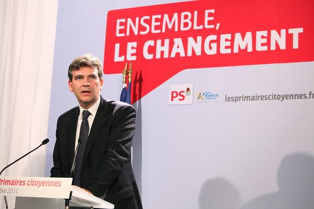 Arnaud Montebourg 2eme tour des primaires citoyennes