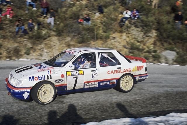 Ford Sierra RS Cosworth 4x4 – Montecarlo 1992