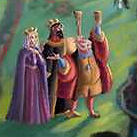 King Stefan, King Hubert, and Queen Leah | Found on Thomas K