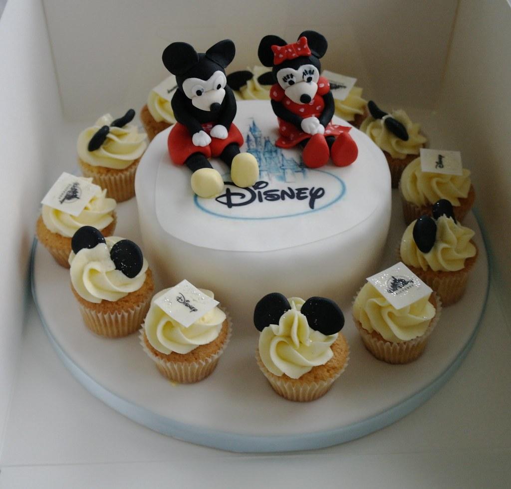 Pleasing Disney 18Th Birthday Cake Disney Themed Cake For An 18Th B Flickr Funny Birthday Cards Online Elaedamsfinfo