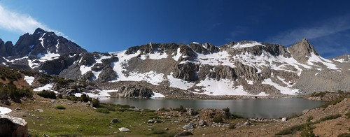 0361 Bishop Pass Trail - Bishop Lake panorama | by _JFR_