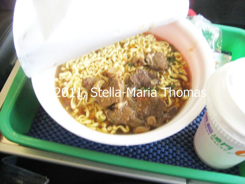 MACAU TO KOWLOON FERRY - FIRST CLASS MEAL 002