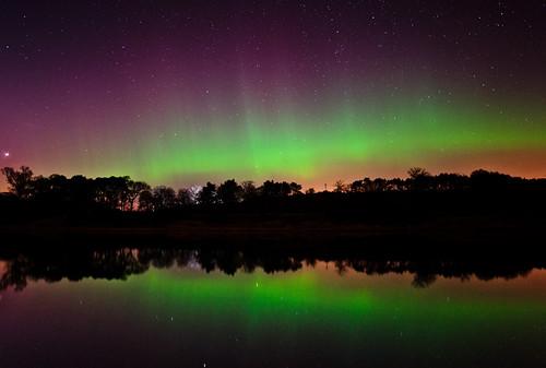 lights scotland aberdeen aurora northern