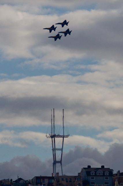 Fleet Week 2011: Sutro Diamond.