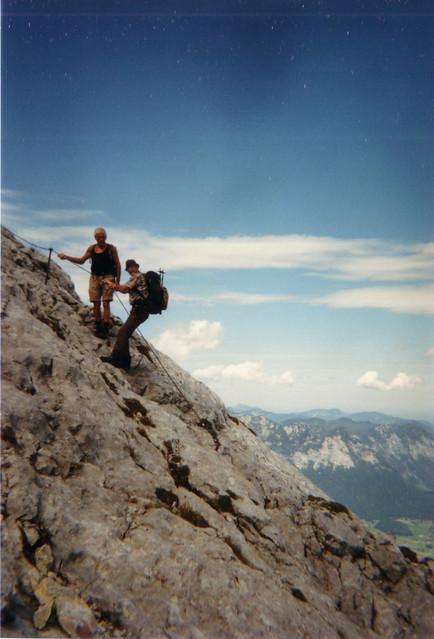 Nur ein leichter Flor wie in Wolken über dem Watzmann leuchten mir freundlich und treu ewige Sterne schimmern uber den Alpen 207