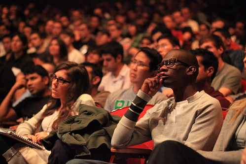 Audience listens at Startup School | by Robert Scoble