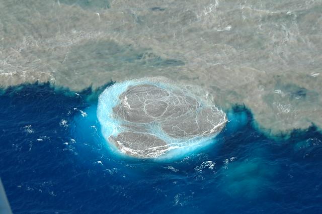 Nuevas imágenes de la mancha de emisiones en el Mar de las Calmas
