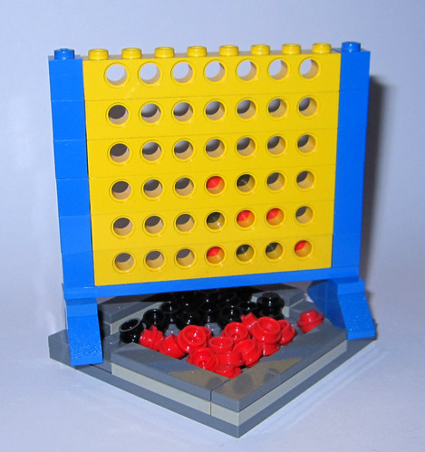 LEGO Connect Four   by Ayleen Dority
