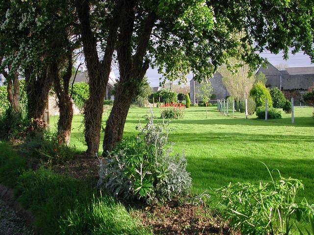 Farmyard and garden