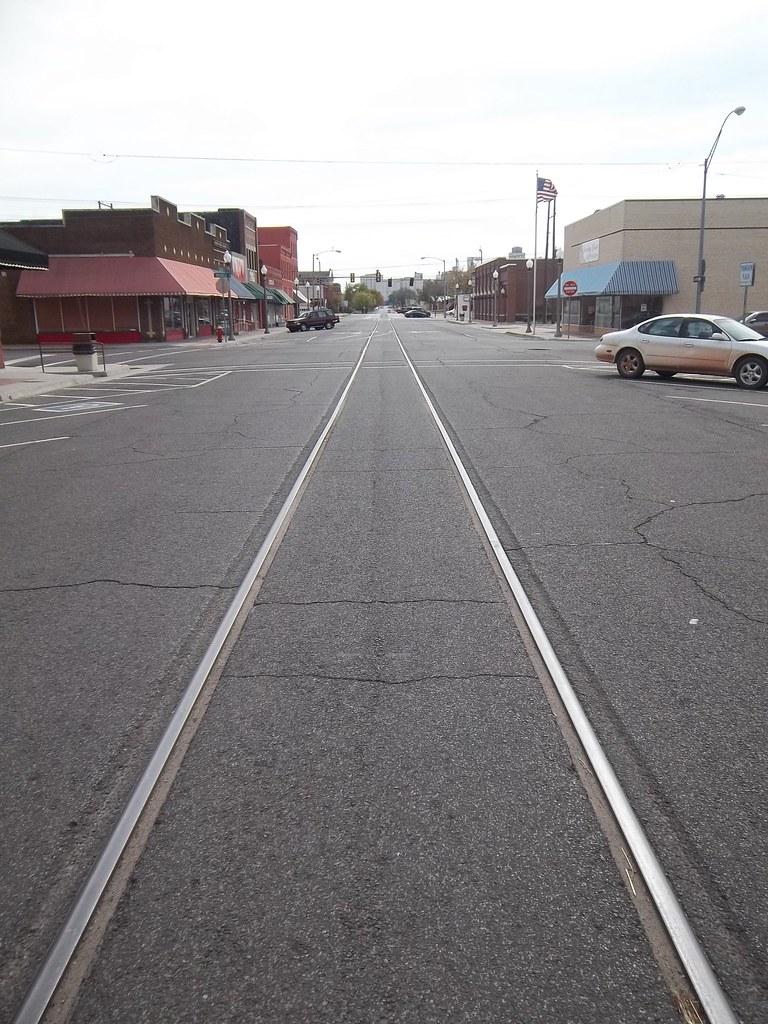 El Reno Oklahoma >> Trolley Tracks El Reno Oklahoma El Reno Is Home To The O