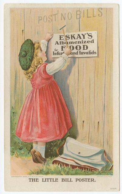 The little bill poster. 1898.