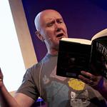 Irvine Welsh | Irvine Welsh reads from A Decent Ride at the Book Festival © Helen Jones
