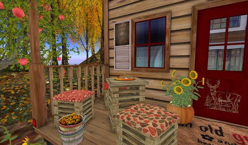 Dreamscapes Art Gallery- Porch Left Seating | by Hidden Gems in Second Life (Interior Designer)