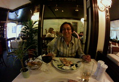 dinner in Lichtenfels, June 2015