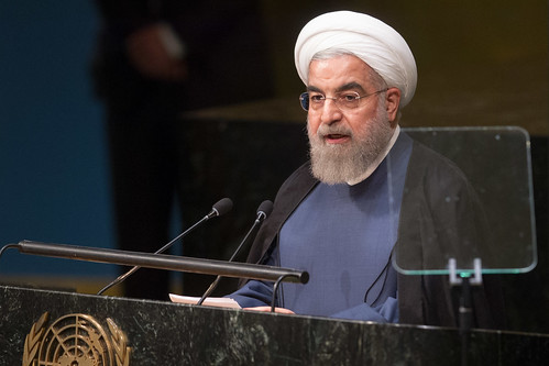 President of Iran Addresses General Assembly | by United Nations Photo