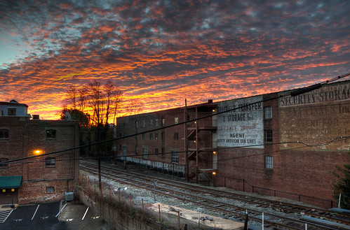 railroad sunrise virginia nikon warehouse charlottesville hdr buckinghambranch bobmical