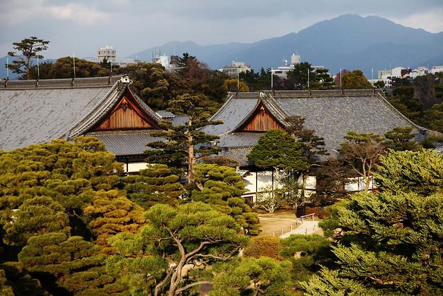 Nijojo Castle Aerial View