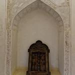 Jabreen Castle: Engraved Wood Plate