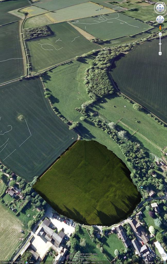 Google Earth Image Overlay Screenshot | I took some oblique