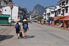 2 turistes a Xingping